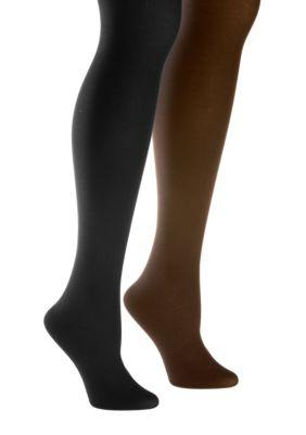 Women Super Opaque Control Top Tights -