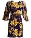 Kimono Sleeves General Print Dress